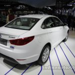 BAIC Senova EU260 rear three quarters at Auto China 2016
