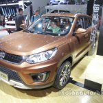 BAIC Senova X35 front three quarters at Auto China 2016