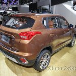 BAIC Senova X35 rear three quarters right side at Auto China 2016