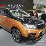 BAIC Senova X55 front three quarters right side at Auto China 2016