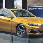 BMW Concept Compact Sedan at Auto China 2016