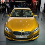 BMW Concept Compact Sedan front at Auto China 2016