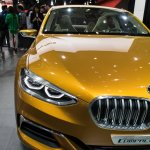 BMW Concept Compact Sedan front fascia at Auto China 2016