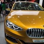 BMW Concept Compact Sedan front fascia at Auto China 2016