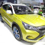 BYD Song EV front three quarters at Auto China 2016