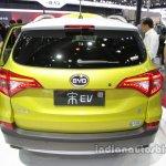 BYD Song EV rear at Auto China 2016
