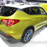 BYD Song EV rear three quarters at Auto China 2016