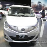 BYD T3 EV front at Auto China 2016
