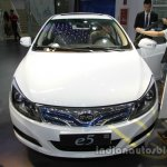 BYD e5 300 EV front at Auto China 2016