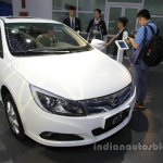 BYD e5 300 EV front three quarters at Auto China 2016