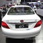 BYD e5 300 EV rear at Auto China 2016