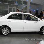 BYD e5 300 EV side profile at Auto China 2016