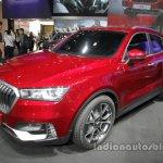 Borgward BX5 concept front three quarters at Auto China 2016