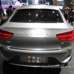 Borgward BX6 TS concept rear at Auto China 2016