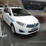 Brilliance H230 EV front three quarters at Auto China 2016