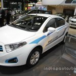 Brilliance H230 EV front three quarters left side at Auto China 2016
