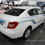 Brilliance H230 EV rear three quarters right side at Auto China 2016