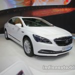 Buick LaCrosse Hybrid front three quarters at Auto China 2016