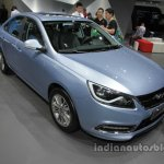 Chery Arrizo 7 plug-in hybrid front three quarters at Auto China 2016