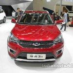 Chery Tiggo 3X front at Auto China 2016