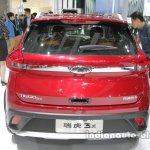 Chery Tiggo 3X rear at Auto China 2016