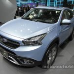 Chery Tiggo 7 plug-in hybrid front three quarters left at Auto China 2016