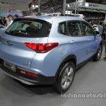 Chery Tiggo 7 plug-in hybrid rear three quarters at Auto China 2016