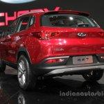Chery Tiggo 7 rear three quarters at Auto China 2016