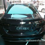 Chevrolet Cruze TRON special edition front three quarters left side at Auto China 2016 rear