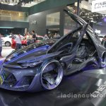 Chevrolet-FNR concept front three quarters left side at Auto China 2016