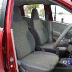 Datsun redi-GO front seats Review