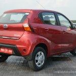 Datsun redi-GO rear quarter Review