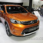 Dongfeng Fengshen AX5 at Auto China 2016 front three quarters