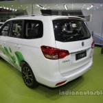 Dongfeng S500-EV at Auto China 2016 rear three quarters left side
