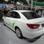 FAW Besturn B30 EV rear three quarters at Auto China 2016
