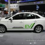 FAW Besturn B30 EV side profile at Auto China 2016