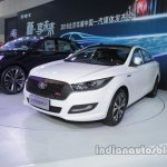 FAW Besturn B50 front three quarters at Auto China 2016