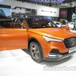 FAW X4 Concept front three quarters at Auto China 2016
