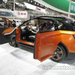 FAW X4 Concept rear three quarters left side at Auto China 2016