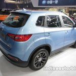 FAW Xenia R7 rear three quarters at Auto China 2016