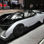 Faraday Future F-Zero front three quarters left side at Auto China 2016