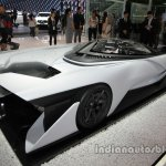 Faraday Future F-Zero rear three quarters right side at Auto China 2016