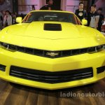 Fifth-gen Chevrolet Camaro front at Auto China 2016