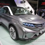 GAC Trumpchi EV Coupe front three quarters right side  at Auto China 2016
