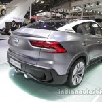 GAC Trumpchi EV Coupe rear three quarters at Auto China 2016