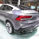 GAC Trumpchi EV Coupe rear three quarters left side at Auto China 2016