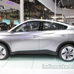 GAC Trumpchi EV Coupe side profile at Auto China 2016