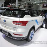 GAC Trumpchi GS4 EV rear three quarters at Auto China 2016