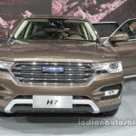 Haval H7 front at Auto China 2016