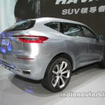 Haval HB-02 concept rear three quarters at Auto China 2016